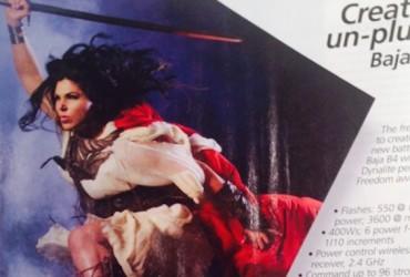 Warrior Print AD -Photo District News Magazine