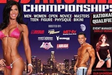 Michelle 1st place & overal winner la-championships
