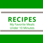 Recipes Overview