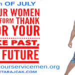 Supporting Our Servicemen & Women, Celebrate 4th of July with Purpose
