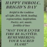 Imbolc, Brigid's Day
