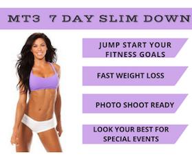 MT3 7 day slimdown