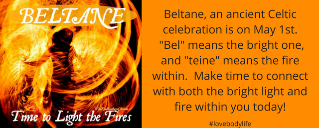 Beltane, an ancient Celtic celebration